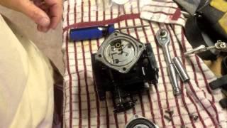 changing a jetski carb jetting