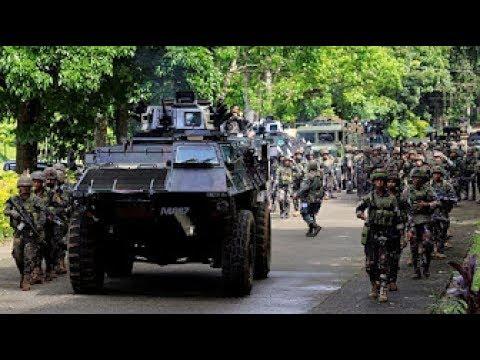 MARAWI UPDATE: Philippine Marine na pinadala sa Marawi nakasagupa na ang Maute Group