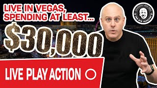 🔴 VEGAS $30,000 Live Play! 🤔 What Should I Play?