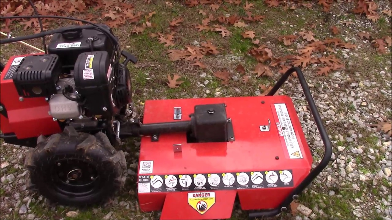 Harbor Freight Mower : Harbor freight brush mower item product review and