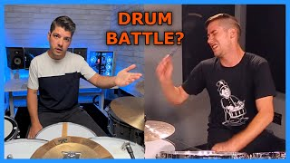 COOP3RDRUMM3R called me out for a Drum Battle