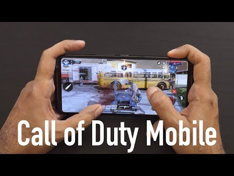 Call Of Duty Mobile Gaming Gameplay On Asus ROG Phone 2