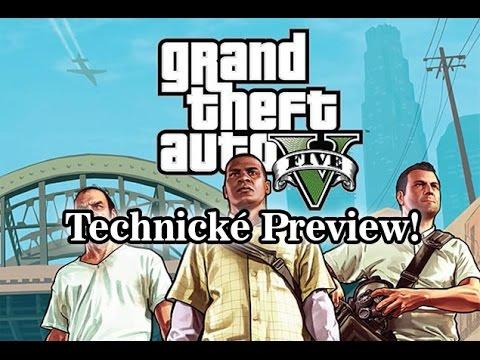 GTA V Technické Preview