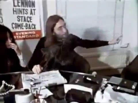 John Lennon | Talks About Peace  | Give Peace A Chance