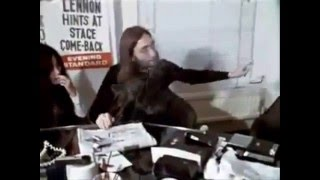 John Lennon talks about peace