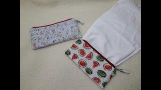 Kit higiene com toalha embutida