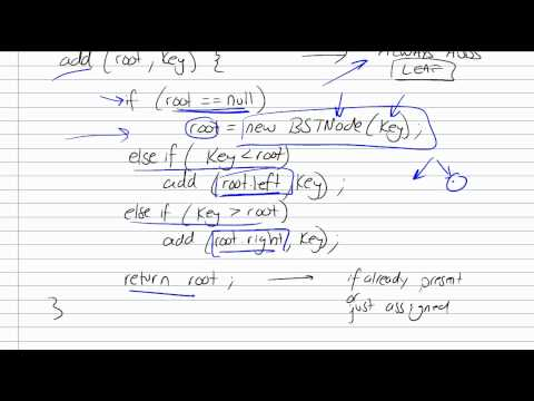 Draw a binary search tree online
