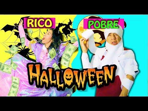 RICO VS POBRE - Halloween | EL MUSICAL