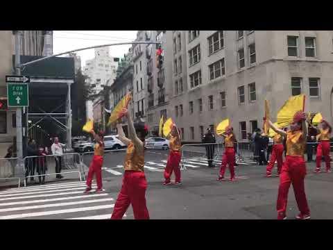 Delegación de Panamá en desfile de Nueva York