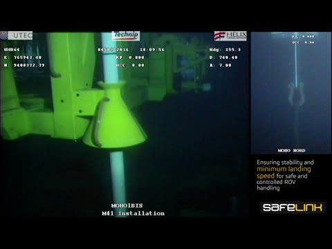 Perfect Subsea Landing - with Safelink PHC