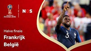 WK voetbal | Samenvatting Frankrijk - België (1-0)