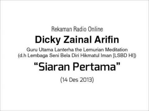 Dialog Radio Dicky Zainal Arifin: Siaran Pertama