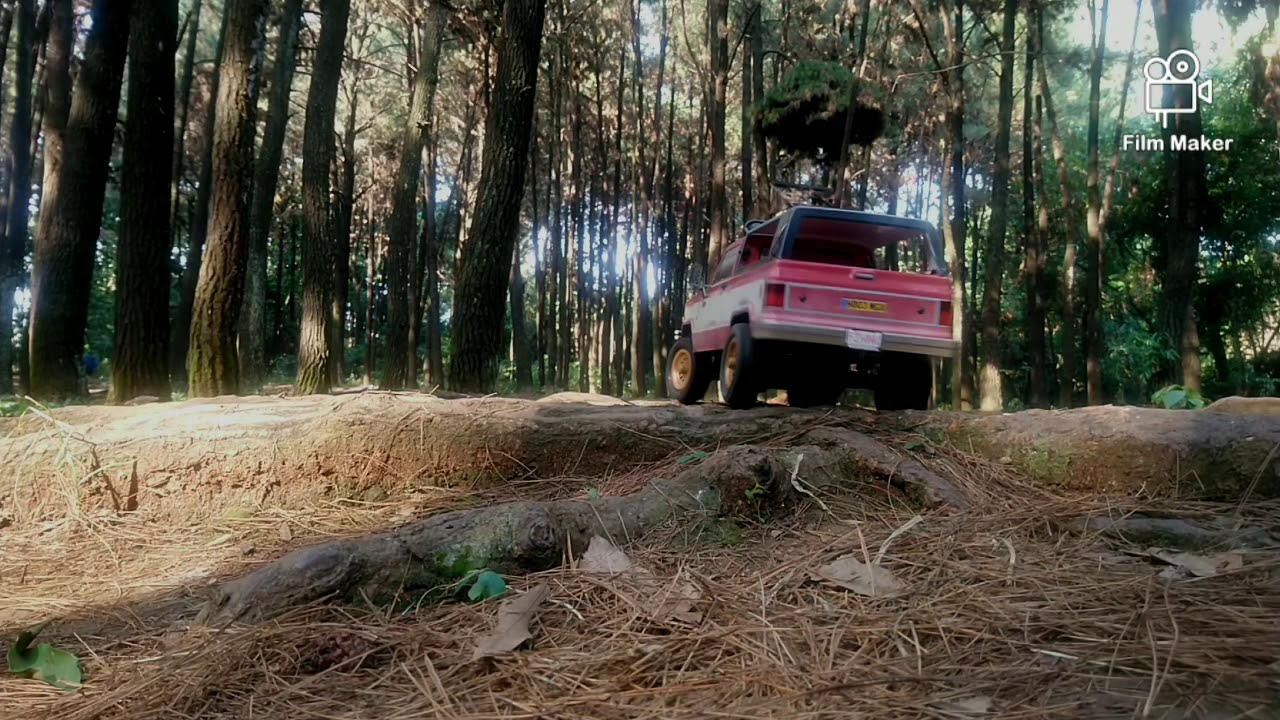 Download TTRC PUBG RTR 1/12 first Trailing in the city forest.