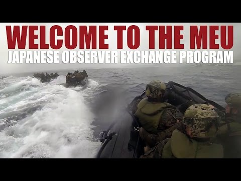 Welcome to the MEU: Japanese Observer Exchange Program
