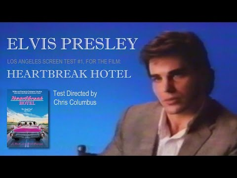 Elvis Presley - Heartbreak Hotel Film - LA Screen Test Scene 1 - Todd McDurmont