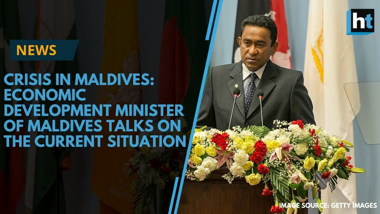 Economic Development Minister Talks About the Current Political Situation in Maldives