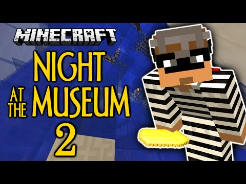 Minecraft | Night At The Museum 2 | DROWNING | Thiefcraft (Minecraft Custom Map)
