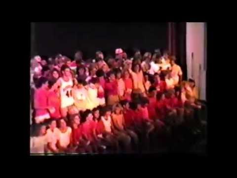 Marshall High School class night 1987 part 1 of 3