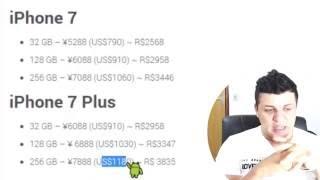 Como o preço IPHONE 7 estraga o Mundo Android.