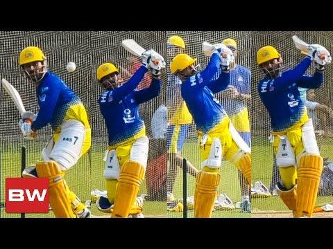 Dhoni's HUGE Back to Back Sixes   CSK   IPL 2018