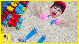 Learn Colors with Indoor playground for Kids Nursery Rhymes Song for Children | MariAndKids Toys