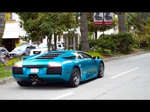 Monterey Car Week- INSANE Supercar Town! Aston Martin One-77, Bugatti Veyron SS, Zagato, Aventador!