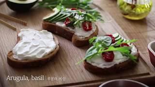 테팔 5분레시피 '산딸기스무디와 샌드위치' by 아내의…