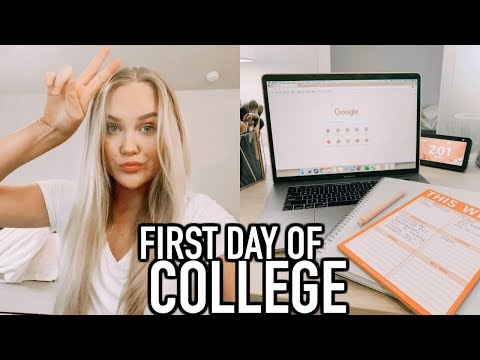 VLOG : First Day Back To School