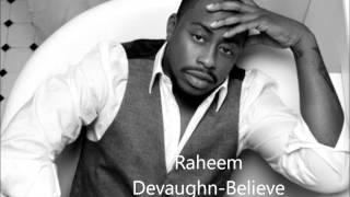 Raheem Devaughn- Believe (Live)