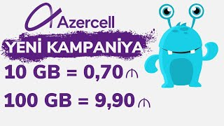 Azercell Tehsil Internet Paketi Ozunet Youtube