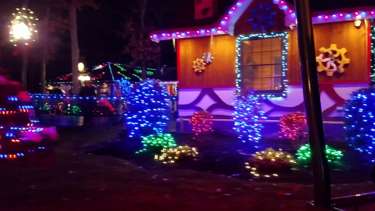 Storybook Land, Egg Harbor Township, NJ on Dec 18, 2016 - YouTube