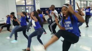 whs class of 2017 the bury shuffle push it