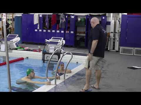 British Swimming National Centre Bath training towards Tokyo 2020