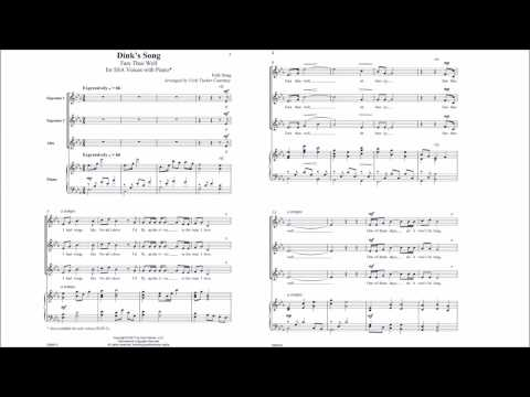 Dink's Song, Fare Thee Well (CM9472) Arr. by Vicki Tucker Courtney