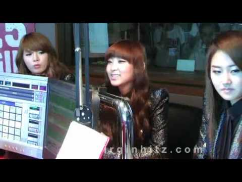 4MINUTE @95.5 Virgin HitZ (Radio Live) THAILAND