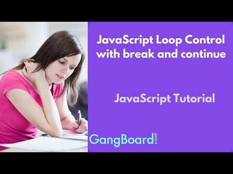 JavaScript Loop Control with break and continue | JavaScript Tutorial For Beginners thumbnail