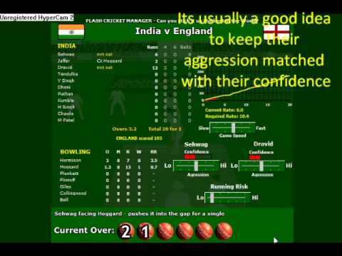 Flachcricket.com Cricketmanager How to win easily