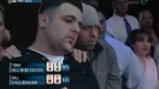 Интересный случай на чемпионате по покеру !