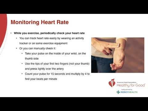 American Heart Association Webinar: Physical Activity