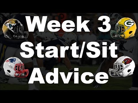 Fantasy Football 2018 Start 'em sit 'em Week-3
