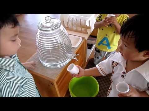 Ratchut montessori school first video