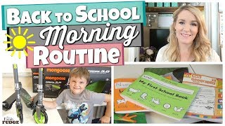 Our MORNING ROUTINE || Home School + YouTube Family