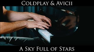 A Sky Full of Stars Piano Cover Coldplay Avicii