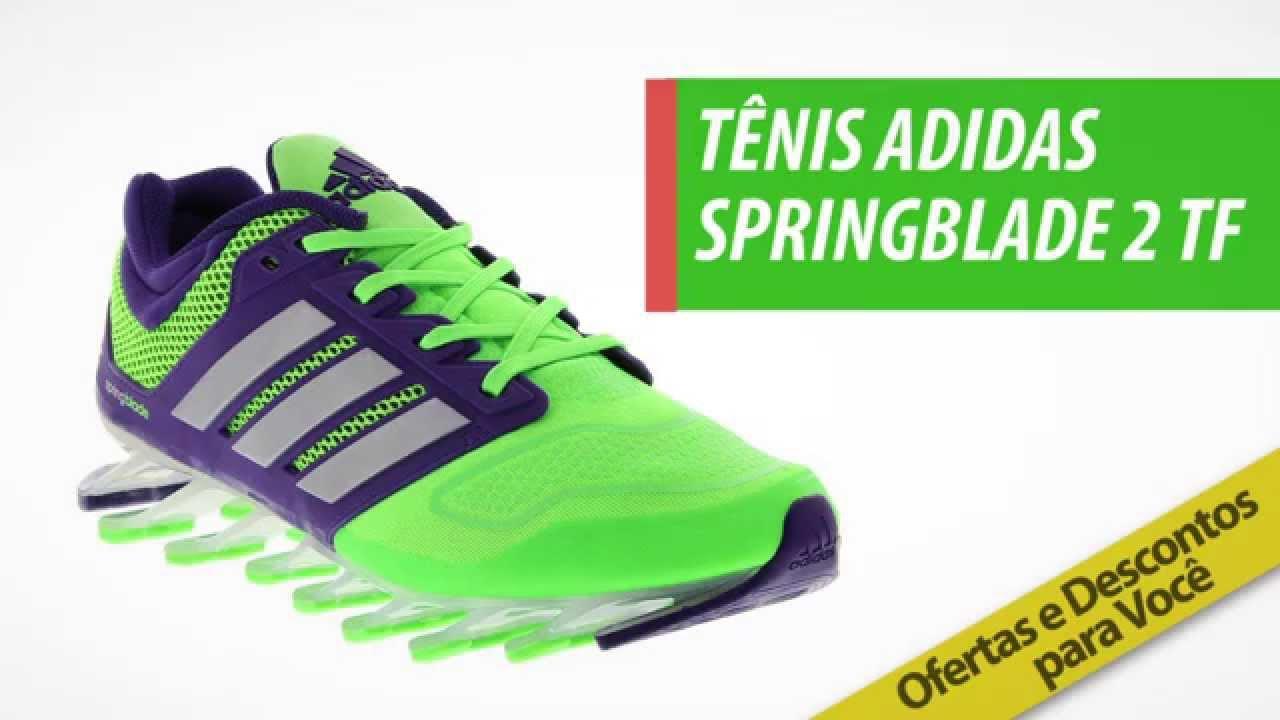 0bd54c5fd38 Tênis adidas Springblade 2 Tf