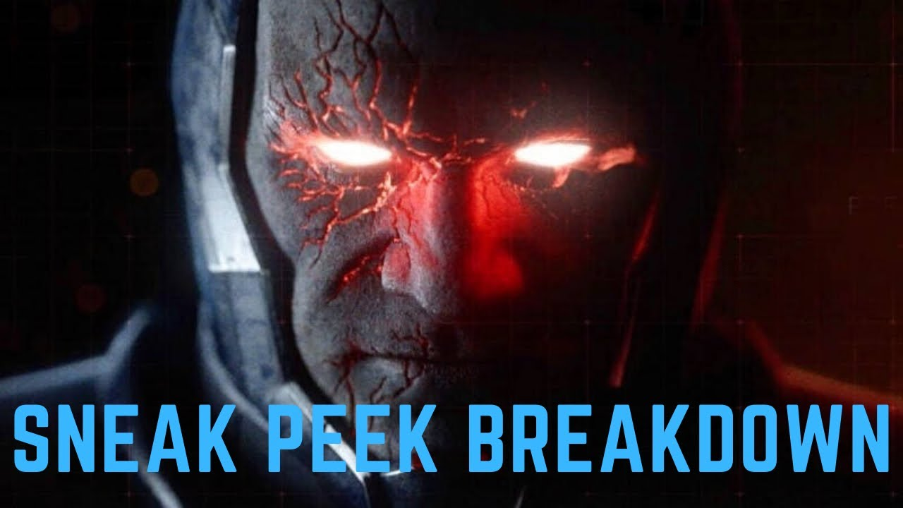 The Snyder Cut Sneak Peek is Here! DARKSEID IS COMING! Zack Snyder's Justice League Teaser Breakdown