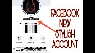 How to make facebook stylis name account new trick