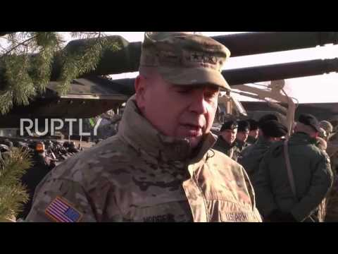 Poland: NATO deploys 3,500 US troops for joint training IN Zagan