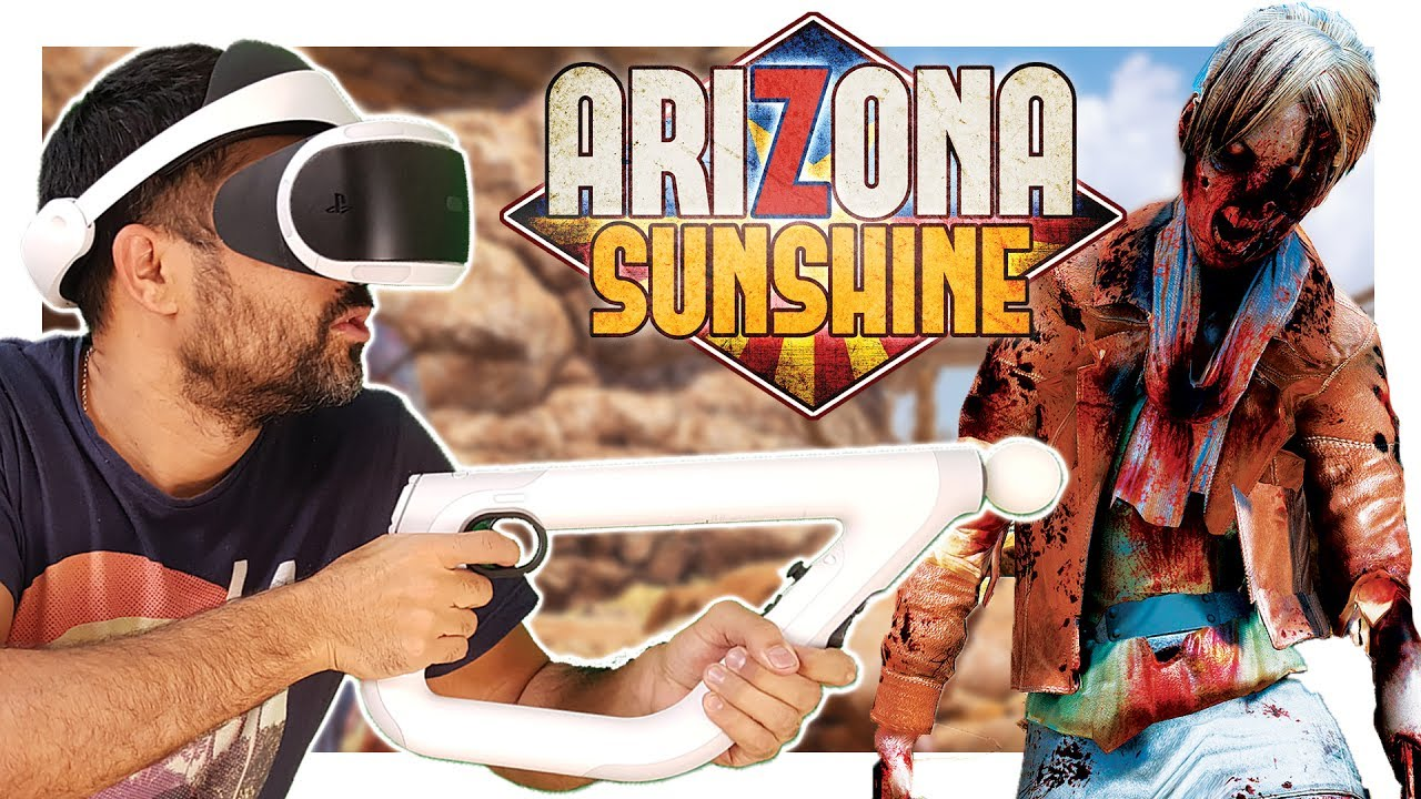 Arizona Sunshine es compatible con AIM Controller