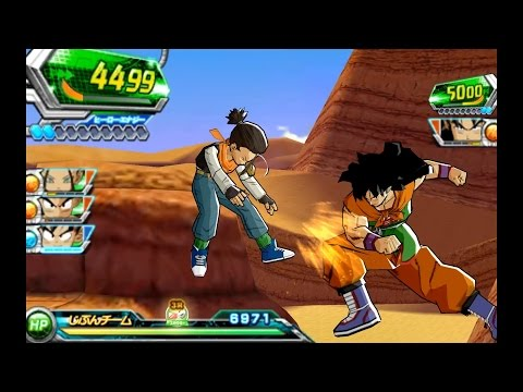 Dragon Ball Heroes: Ultimate Mission 2 (Japanese) - Citra Emulator (CPU JIT) [1080p] - Nintendo 3DS - 동영상