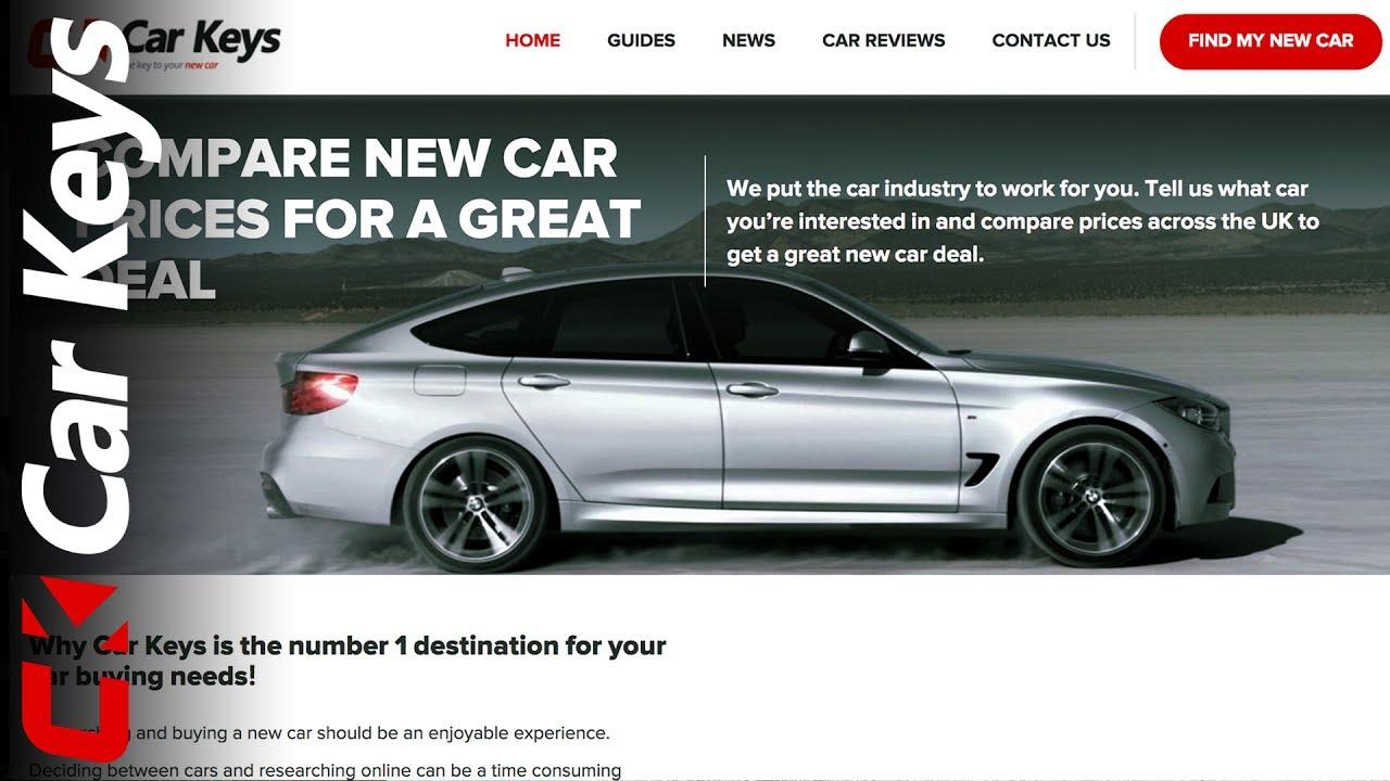 New Car Keys website 2017 - YouTube
